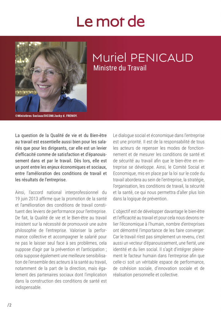 Muriel Penicaud Ministre du Travail