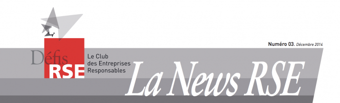 Newsletter du club Défis RSE dec 2014