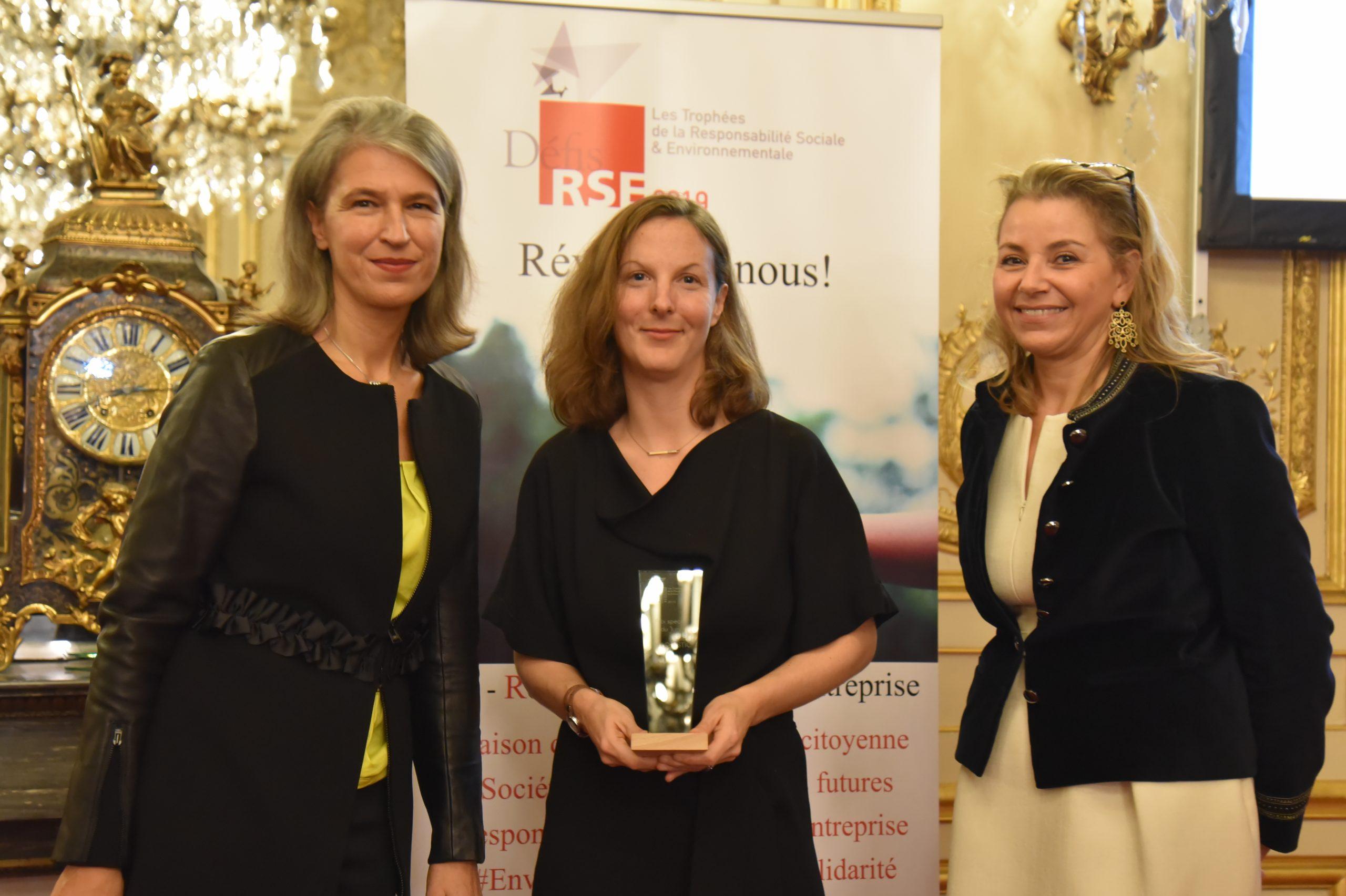 Prix spécial du Jury : Remettant : Catherine Papillon, BNPP Real Estate – Lauréat : FM LOGISTIC, Charlotte Migne
