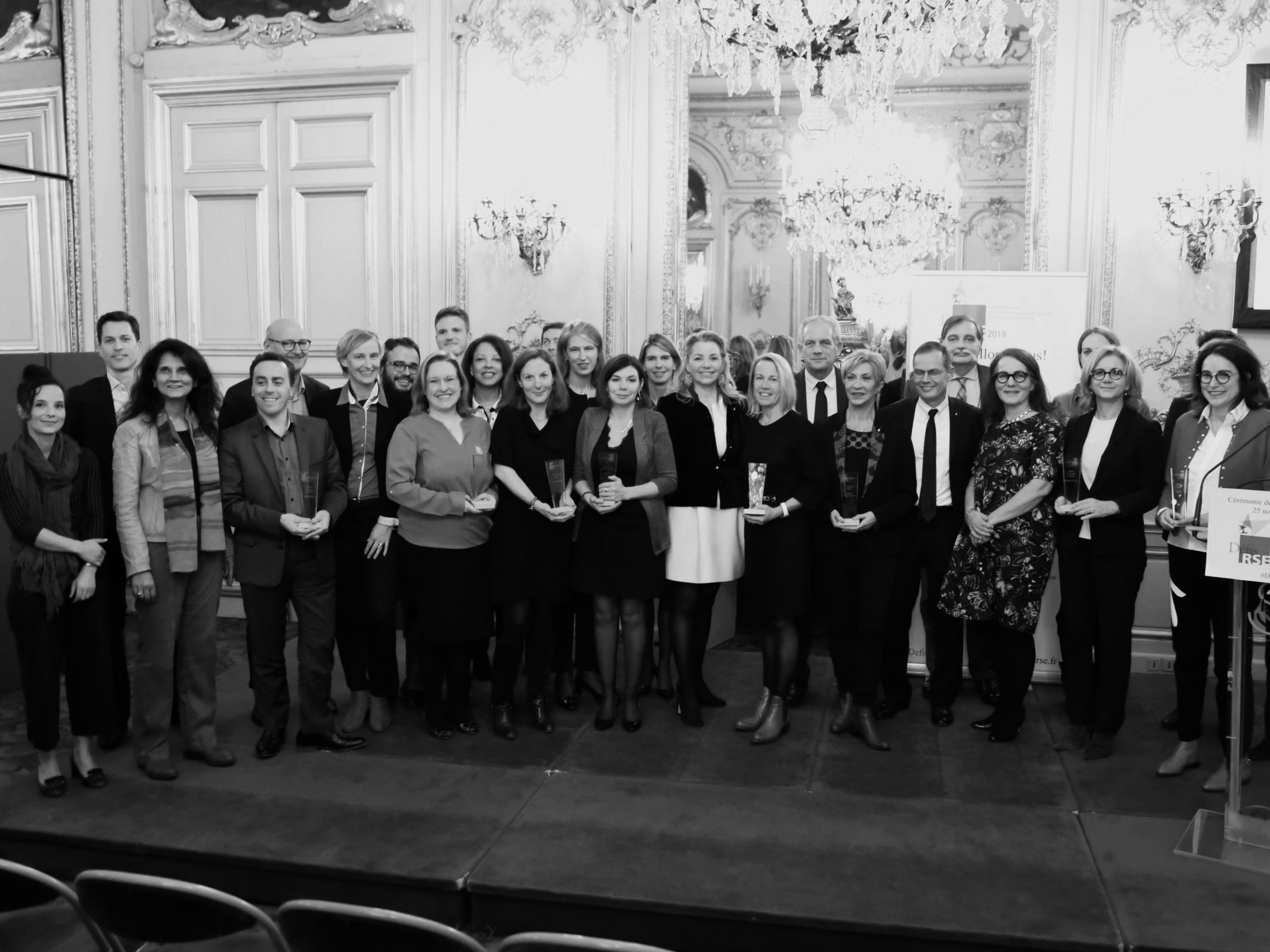 Remise des trophées Défis RSE aux lauréats de 2019